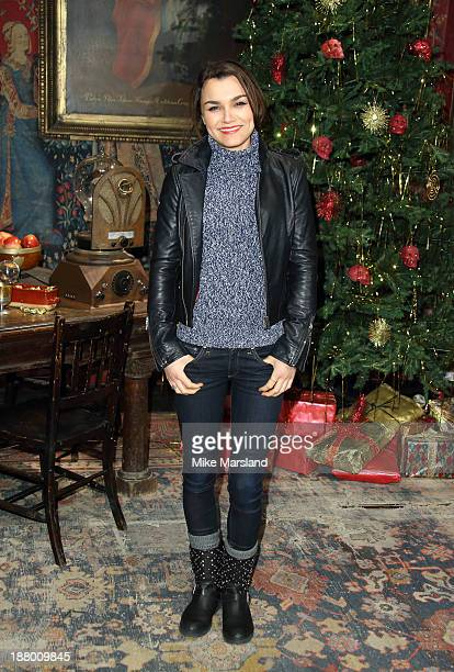 Samantha Barks attends Hogwarts In The Snow VIP Preview at Warner Bros Studios on November 14 2013 in London England