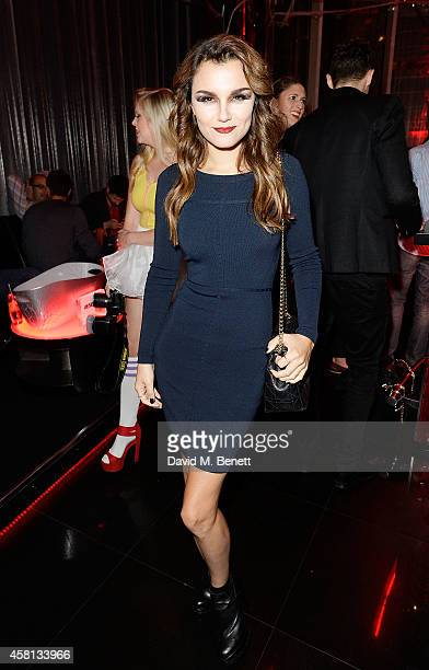 Samantha Barks attends Nightmare on Wardour Street at Wyld Bar on October 30 2014 in London United Kingdom