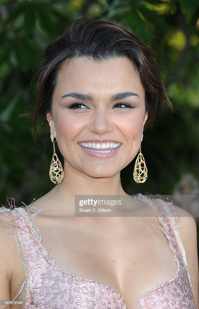 Samantha Barks attends the annual Serpentine Galley Summer Party at The Serpentine Gallery on July 1, 2014 in London, England.