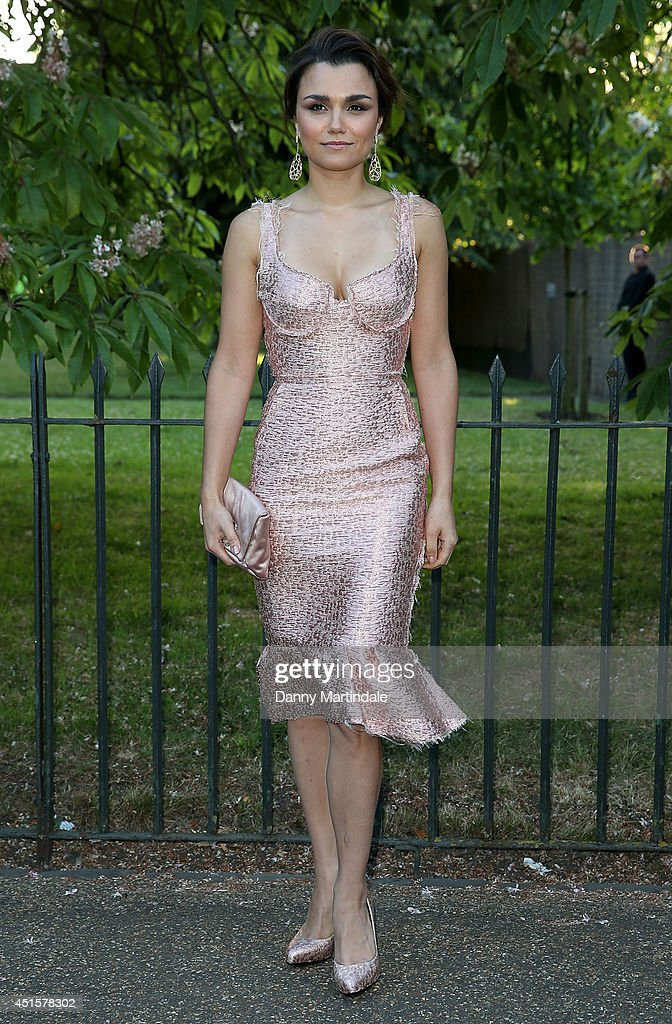 <a gi-track='captionPersonalityLinkClicked' href=/galleries/search?phrase=Samantha+Barks&family=editorial&specificpeople=7061893 ng-click='$event.stopPropagation()'>Samantha Barks</a> attends the annual Serpentine Galley Summer Party at The Serpentine Gallery on July 1, 2014 in London, England.