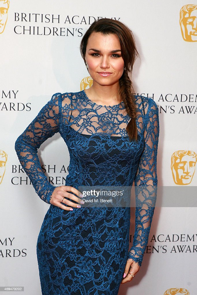 Samantha Barks attends the BAFTA Academy Children's Awards at the Roundhouse on November 23 2014 in London England