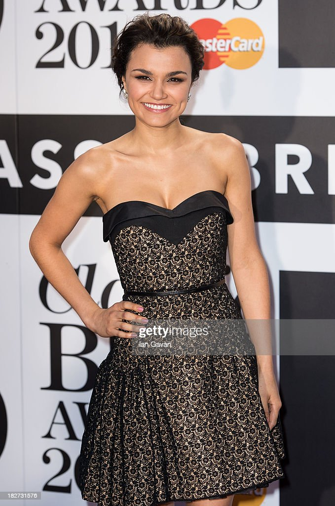 <a gi-track='captionPersonalityLinkClicked' href=/galleries/search?phrase=Samantha+Barks&family=editorial&specificpeople=7061893 ng-click='$event.stopPropagation()'>Samantha Barks</a> attends the Classic BRIT Awards 2013 at the Royal Albert Hall on October 2, 2013 in London, England.