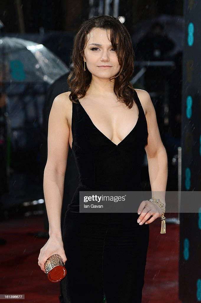 Samantha Barks attends the EE British Academy Film Awards at The Royal Opera House on February 10, 2013 in London, England.