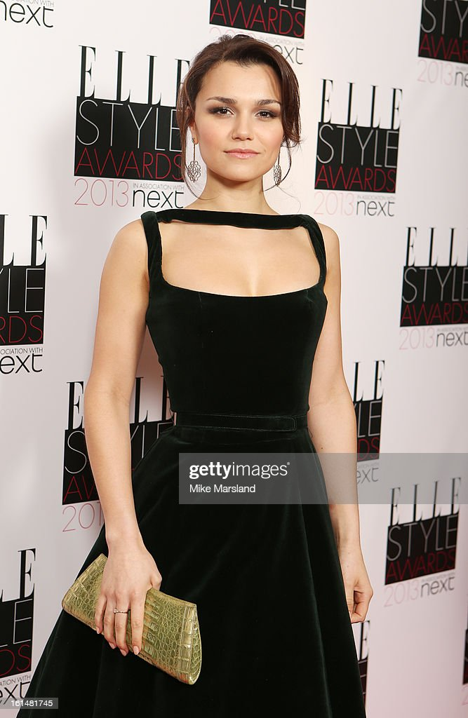 Samantha Barks attends the Elle Style Awards 2013 at The Savoy Hotel on February 11, 2013 in London, England.