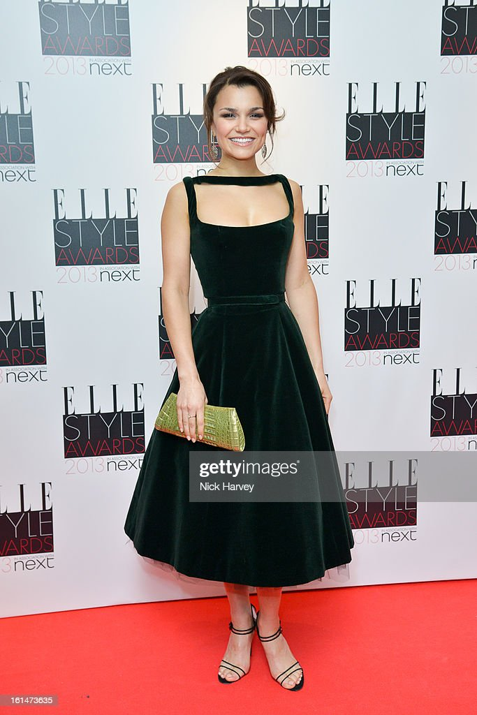 Samantha Barks attends the Elle Style Awards 2013 on February 11, 2013 in London, England.