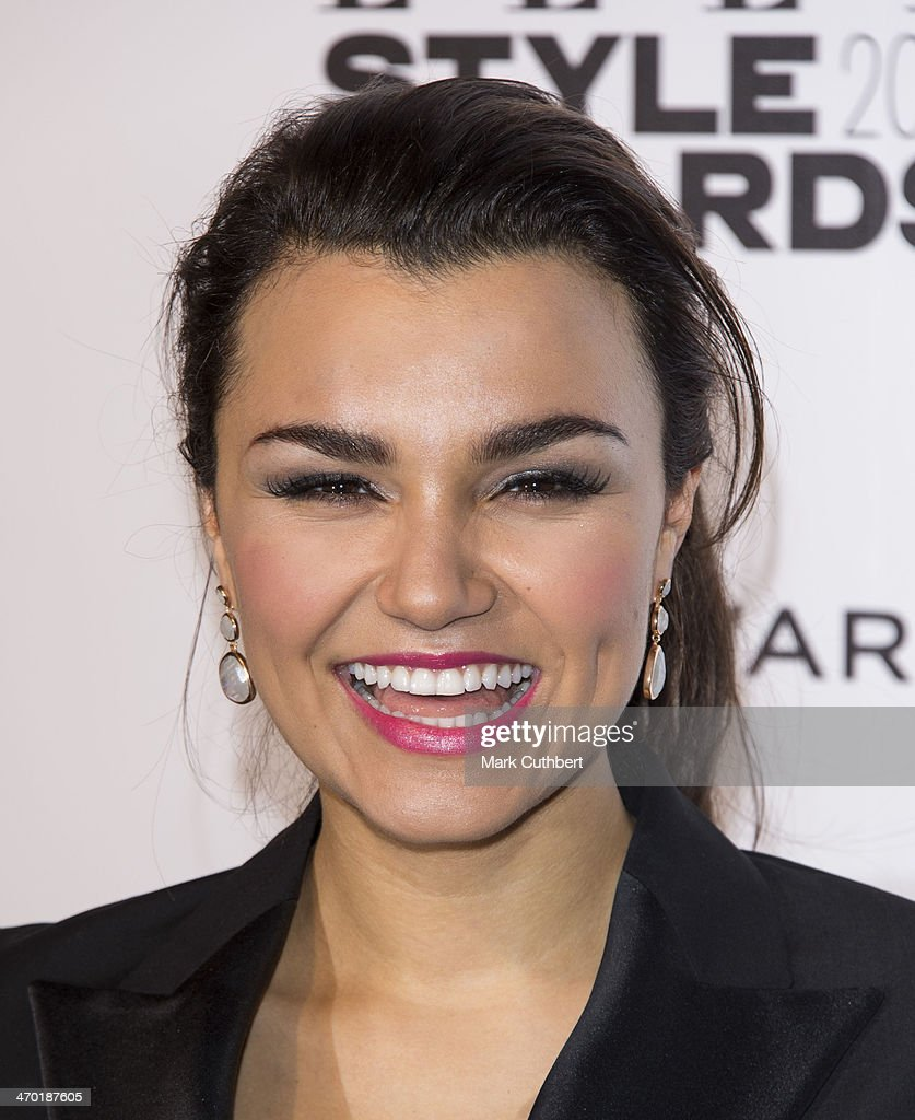 Samantha Barks attends the Elle Style Awards 2014 at one Embankment on February 18, 2014 in London, England.