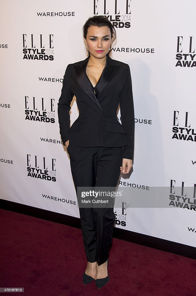 <a gi-track='captionPersonalityLinkClicked' href=/galleries/search?phrase=Samantha+Barks&family=editorial&specificpeople=7061893 ng-click='$event.stopPropagation()'>Samantha Barks</a> attends the Elle Style Awards 2014 at one Embankment on February 18, 2014 in London, England.