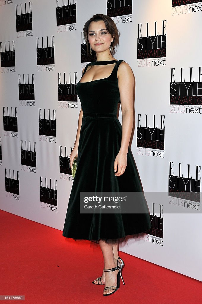 Samantha Barks attends the Elle Style Awards at The Savoy Hotel on February 11, 2013 in London, England.
