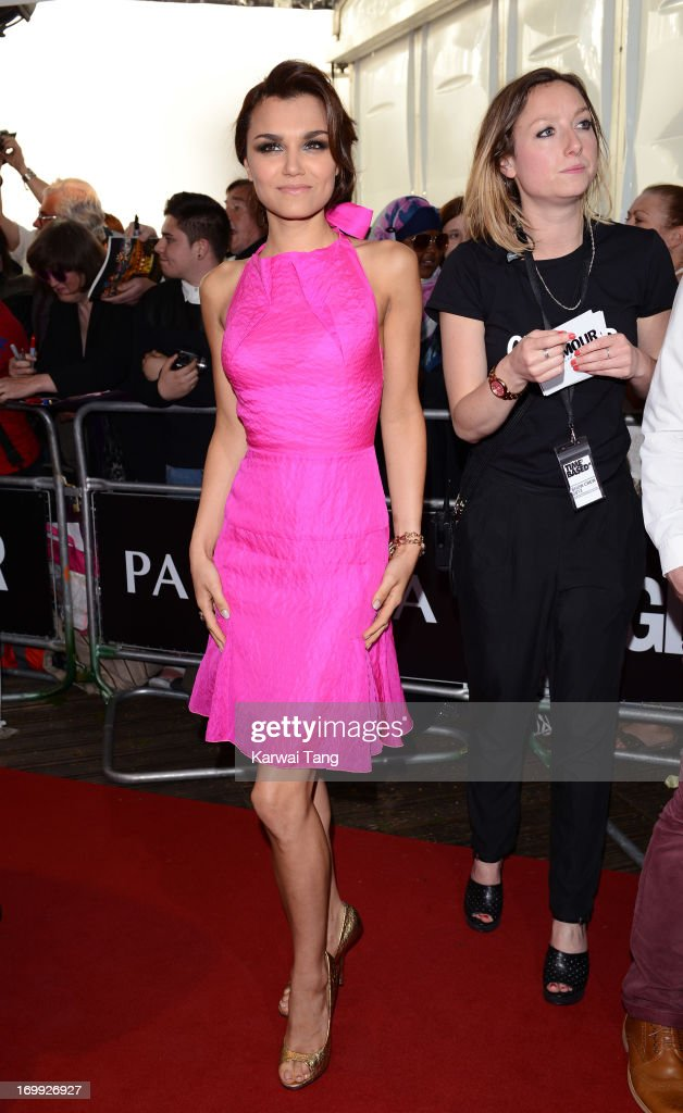 <a gi-track='captionPersonalityLinkClicked' href=/galleries/search?phrase=Samantha+Barks&family=editorial&specificpeople=7061893 ng-click='$event.stopPropagation()'>Samantha Barks</a> attends the Glamour Women of the Year Awards 2013 at Berkeley Square Gardens on June 4, 2013 in London, England.