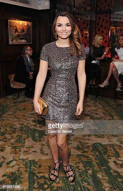Samantha Barks attends the 'Icons of Style' dinner hosted by Michael Kors and Vanity Fair on May 14 2015 in London United Kingdom