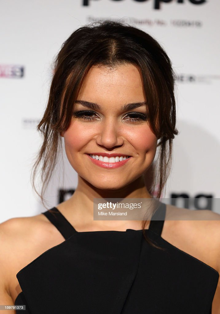 Samantha Barks attends the London Film Critics Circle Film Awards at The Mayfair Hotel on January 20, 2013 in London, England.