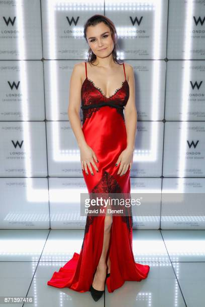 Samantha Barks attends the official launch of The Perception at The W Hotel on November 7 2017 in London England