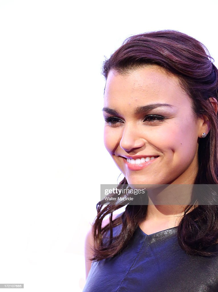 <a gi-track='captionPersonalityLinkClicked' href=/galleries/search?phrase=Samantha+Barks&family=editorial&specificpeople=7061893 ng-click='$event.stopPropagation()'>Samantha Barks</a> attends The Recording Academy Honors 2013 at 583 Park Avenue on June 25, 2013 in New York City.