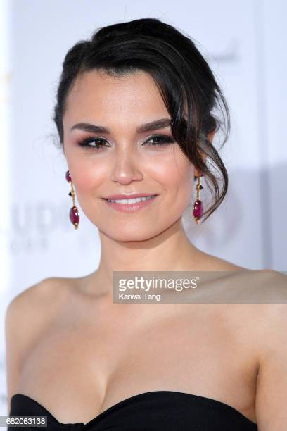 Samantha Barks attends the World Premiere of 'Interlude In Prague' at Odeon Leicester Square on May 11 2017 in London England