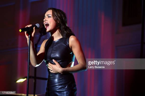 Samantha Barks performs during The Recording Academy Honors at 583 Park Avenue on June 25 2013 in New York City