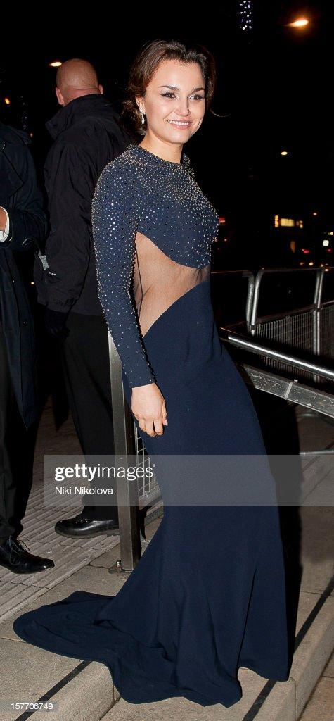 Samantha Barks sighting on December 5, 2012 in London, England.