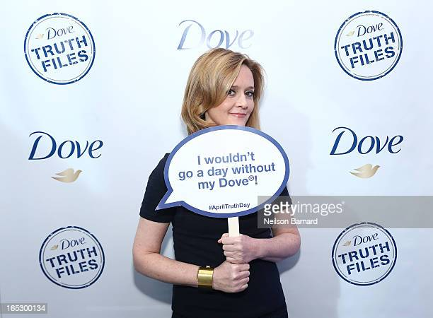 Samantha Bee attends Dove April Truth Day Event with Samantha Bee of 'The Daily Show' on April 2 2013 in New York City