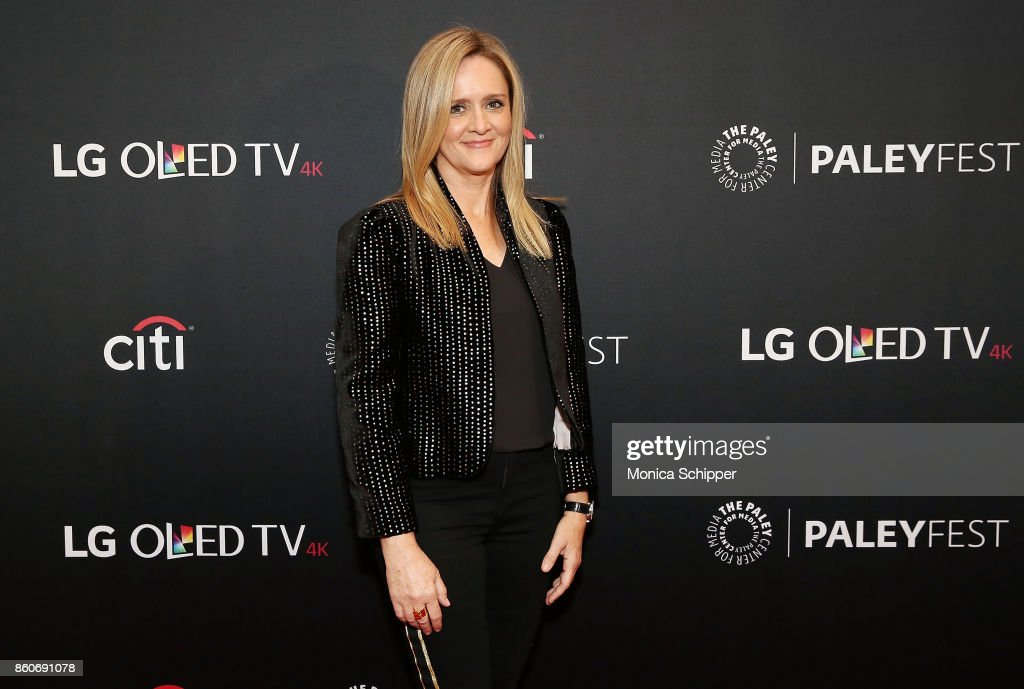 Samantha Bee attends PaleyFest NY 2017 - 'Full Frontal With Samantha Bee' at The Paley Center for Media on October 12, 2017 in New York City.