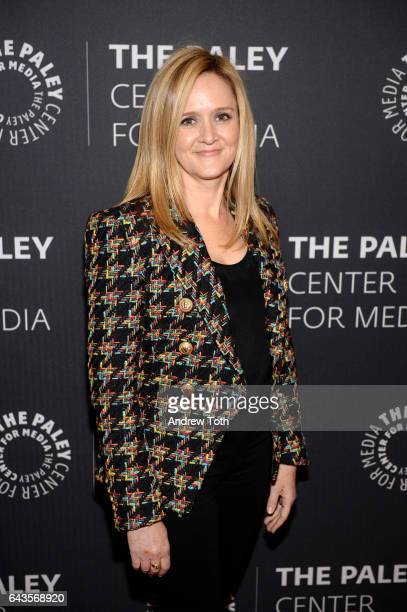 Samantha Bee attends 'The Detour' season 2 screening at The Paley Center for Media on February 21 2017 in New York City