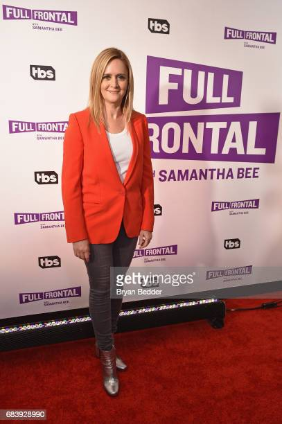 Samantha Bee attends the 'Full Frontal With Samantha Bee' FYC Event at New World Stages on May 16 2017 in New York City 27026_001