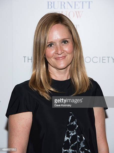 Samantha Bee attends the 'The Carol Burnett Show The Lost Episodes' screening hosted by Time Life and The Cinema Society at Tribeca Grand Hotel on...