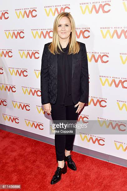 Samantha Bee attends the Women's Media Center 2016 Women's Media awards on September 29 2016 in New York City