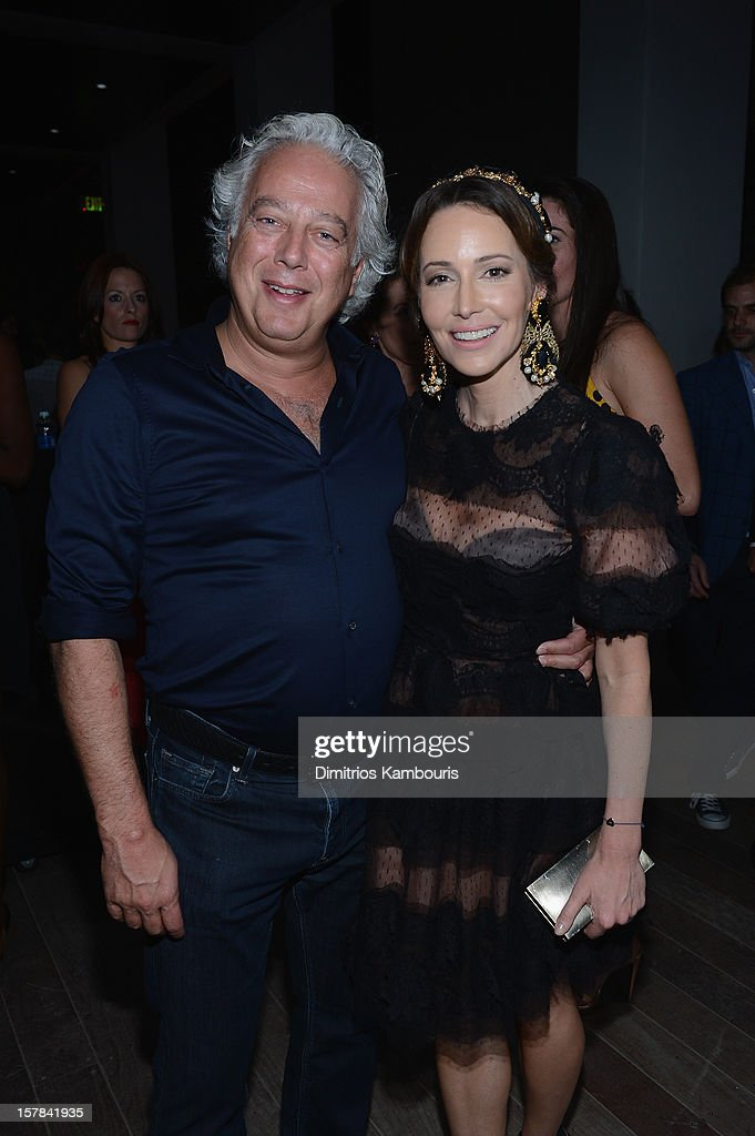 Samantha Boardman and Aby Rosen attend the celebration of Dom Perignon Luminous Rose at Wall at W Hotel on December 6, 2012 in Miami Beach, Florida.