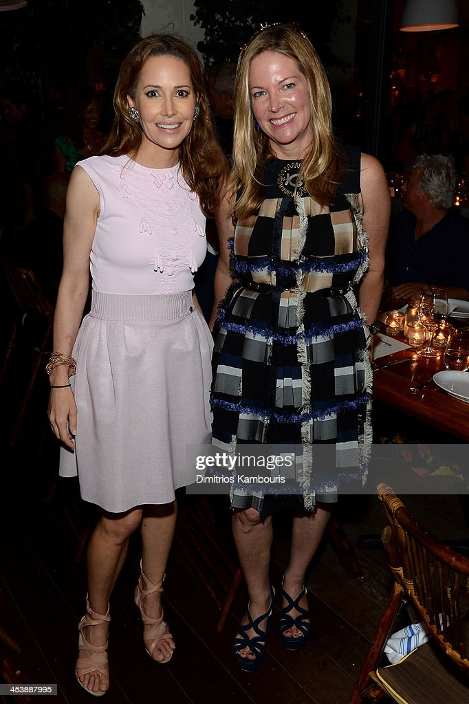 Samantha Boardman (L) attends the Aby Rosen & Samantha Boardman Dinner at The Dutch on December 5, 2013 in Miami Beach, Florida.