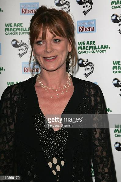 Samantha Bond arrives for The Grease Charity Gala on August 02 2007 in London England