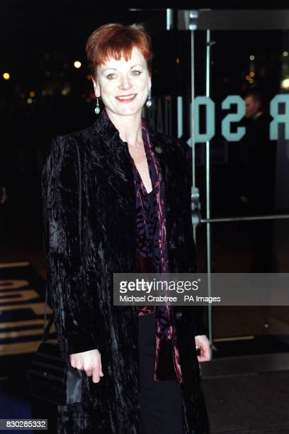 Samantha Bond at the closing night gala of The London Film Festival for the European premiere of Sam Mendes' cinematic debut American Beauty...