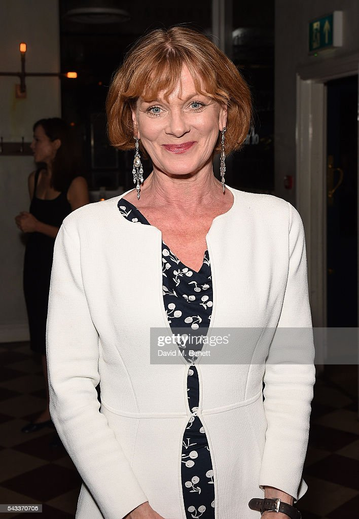 <a gi-track='captionPersonalityLinkClicked' href=/galleries/search?phrase=Samantha+Bond&family=editorial&specificpeople=209017 ng-click='$event.stopPropagation()'>Samantha Bond</a> attends the after party of 'The Truth' at Polpo At The Ape and Bird on June 27, 2016 in London, England.