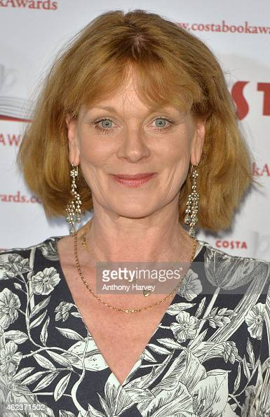 Samantha Bond attends the Costa Book of the Year award at Quaglinos on January 27 2015 in London England