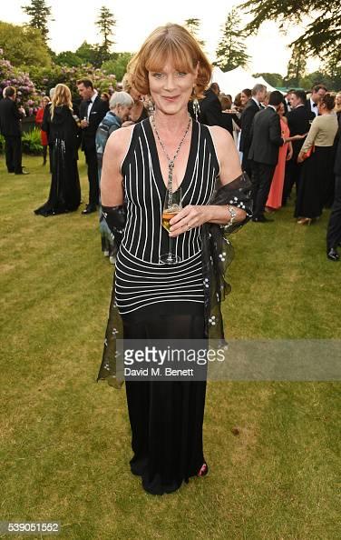 Samantha Bond attends the Duke of Edinburgh Award 60th Anniversary Diamonds are Forever Gala at Stoke Park on June 9 2016 in Guildford England