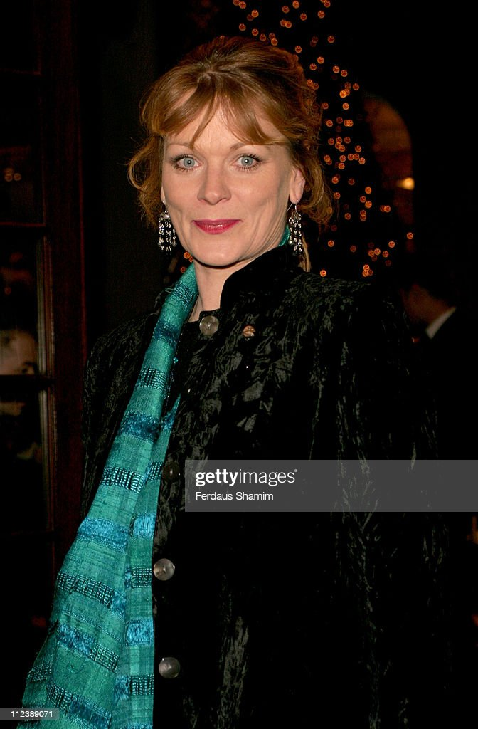 Samantha Bond during Asprey Party Arrivals at Asprey in London Great Britain