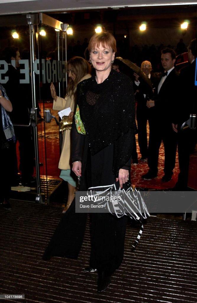 Samantha Bond, The Orange British Academy Film Awards (bafta) 2002, At The Odeon, Leicester Square, London