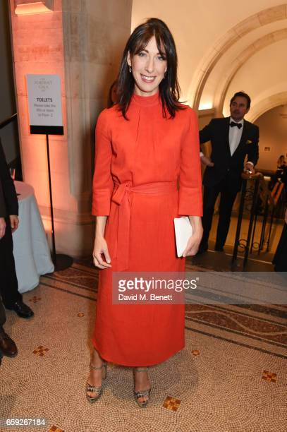 Samantha Cameron attends the Portrait Gala 2017 sponsored by William Son at the National Portrait Gallery on March 28 2017 in London England