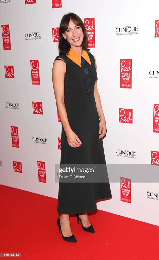 Samantha Cameron attends the Red Women of the year awards at The Skylon on October 17, 2016 in London, England.