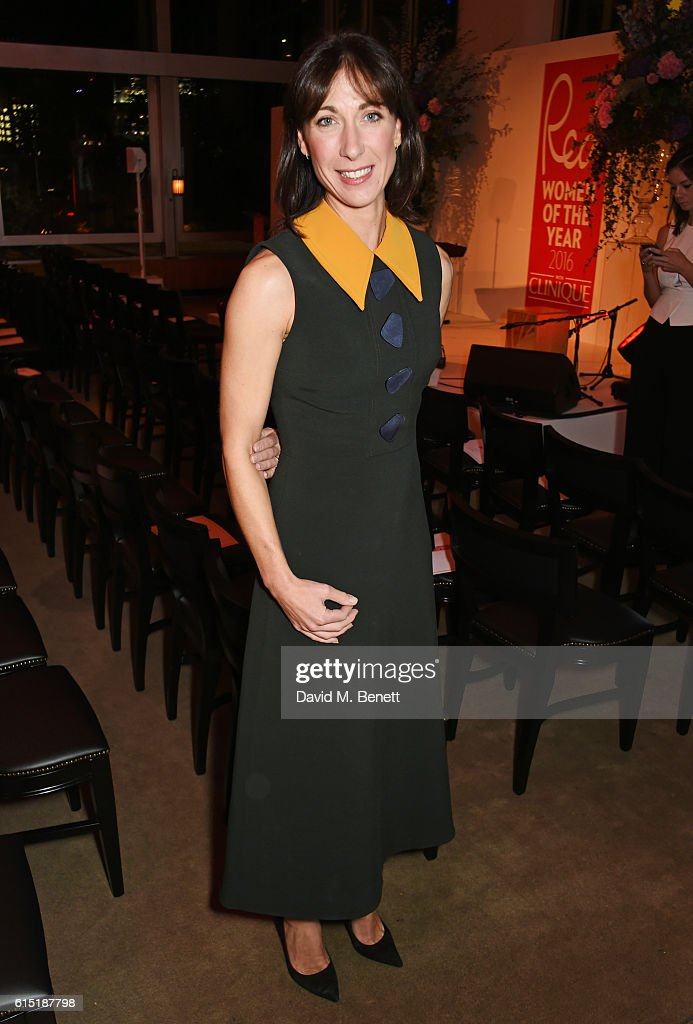 Samantha Cameron attends the Red Women Of The Year Awards in association with Clinique at The Skylon on October 17, 2016 in London, England.