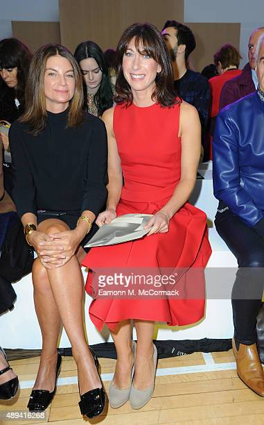 Samantha Cameron attends the Roksanda show during London Fashion Week Spring/Summer 2016 on September 21 2015 in London England