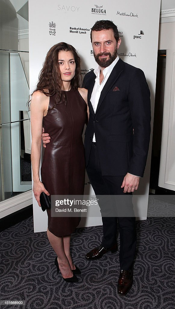 Samantha Colley and Richard Armatage attend an after party following the press night performance of 'The Crucible'>> at The Savoy Hotel on July 3, 2014 in London, England.