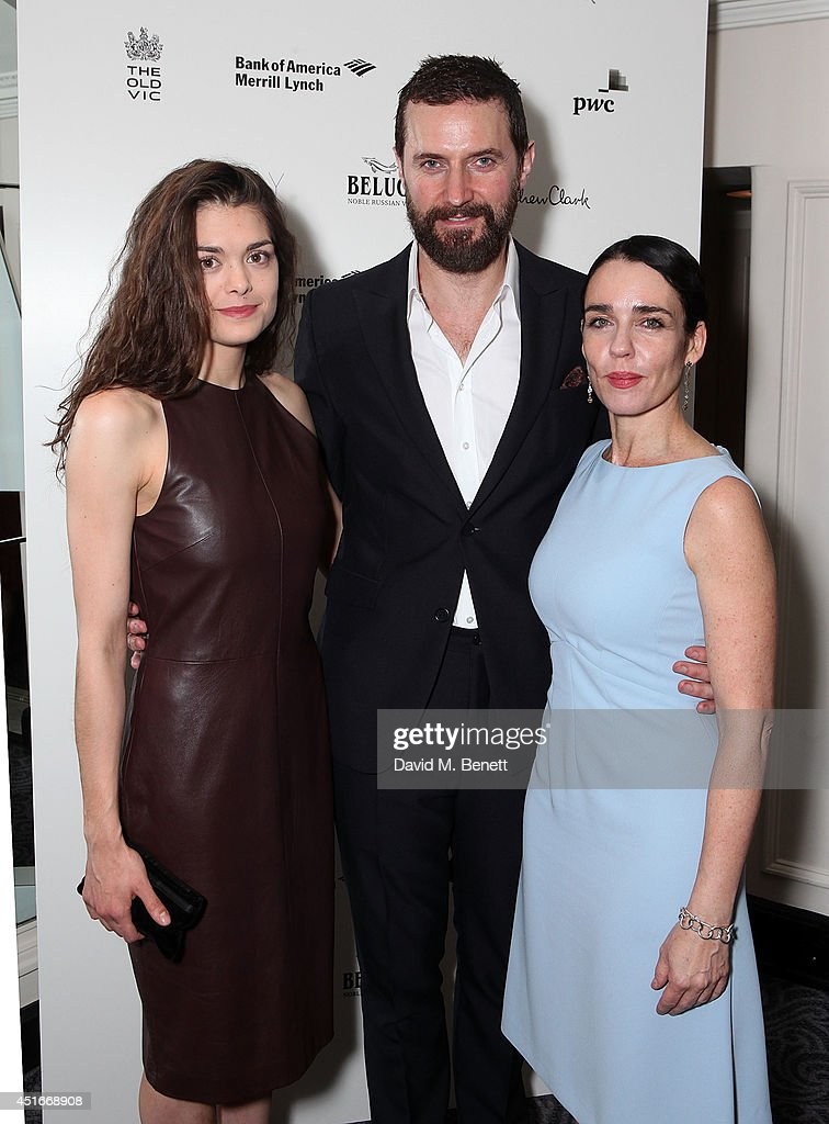 Samantha Colley, Richard Armatage and Yael Farber attend an after party following the press night performance of 'The Crucible' at The Savoy Hotel on July 3, 2014 in London, England.