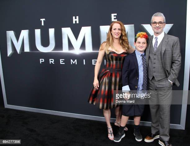 Samantha Counter and Alex Kurtzman attends 'The Mummy' Fan Event at AMC Loews Lincoln Square on June 6 2017 in New York City