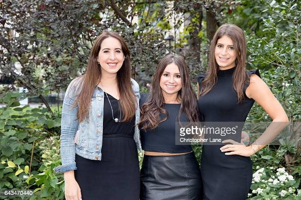 Samantha Fisbein Aleen Kuperman and Jordana Abrahamof Betches are photographed for The Guardian Magazine on September 29 2016 in New York City