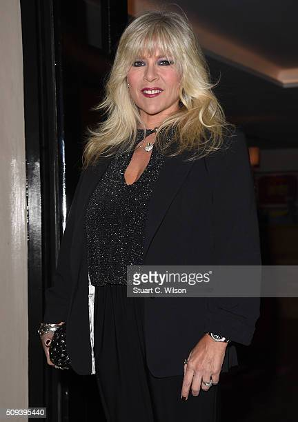 Samantha Fox attends as Leona Lewis Hosts the KISS Beauty Launch at The Haymarket Hotel on February 10 2016 in London England