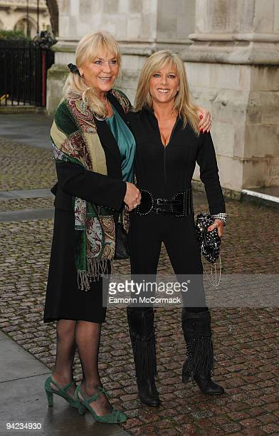 Samantha Fox attends the Woman's Own Children Of Courage Award at Westminster Abbey on December 9 2009 in London England