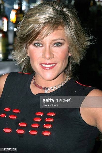Samantha Fox during British Pop Star Samantha Fox guest stars in 'The Donkey Show' New York at El Flamingo Club in New York City New York United...