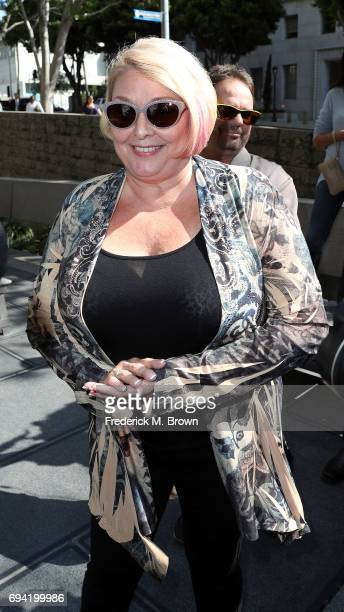 Samantha Geimer arrives at the Clara Shortridge Foltz Criminal Justice Center on June 9 2017 in Los Angeles California