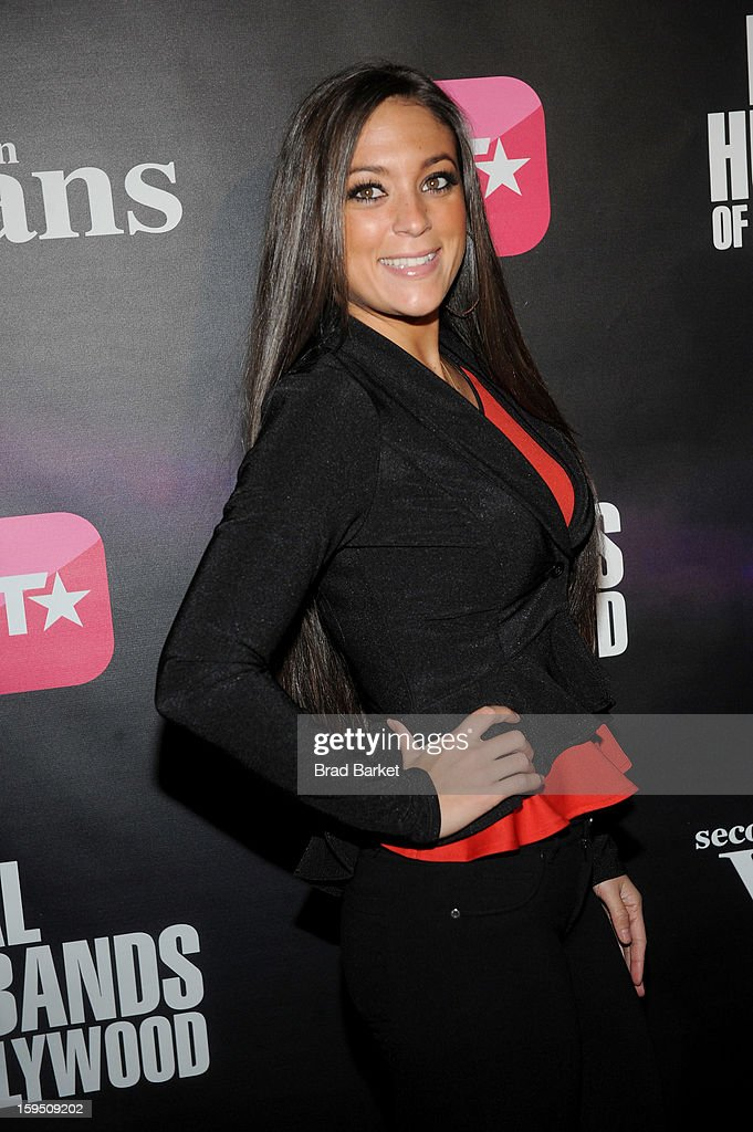 Samantha Giancola attends BET Networks New York Premiere Of 'Real Husbands of Hollywood' And 'Second Generation Wayans' at SVA Theater on January 14, 2013 in New York City.