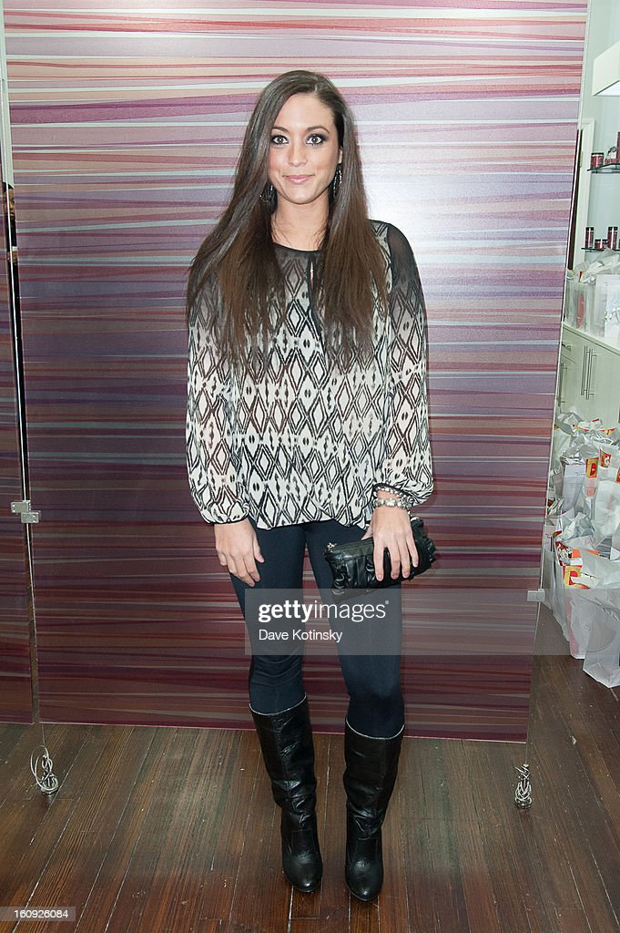 Samantha Giancola attends Lasio Studios Salon Grand Opening at Lasio Studios on February 7, 2013 in New York City.
