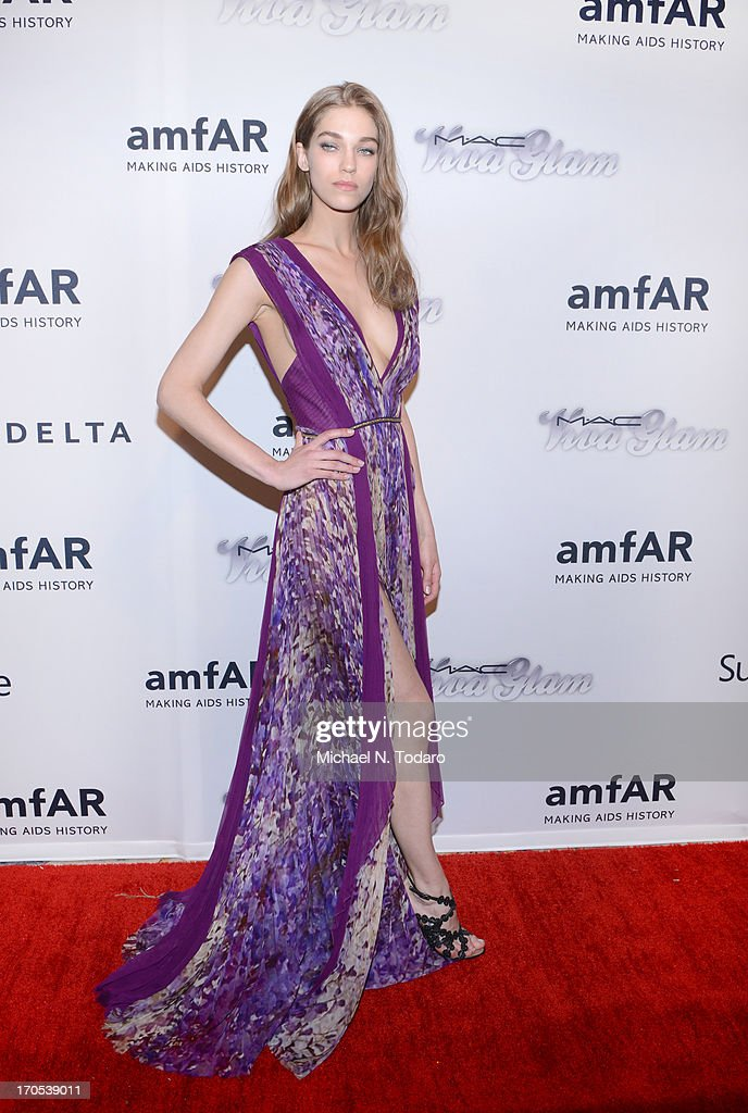Samantha Gradoville attends the 4th Annual amfAR Inspiration Gala New York at The Plaza Hotel on June 13, 2013 in New York City.